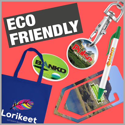 Eco-Friendly Products personalised with print