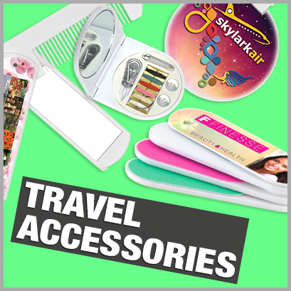 Promotional Travel Accessories with no MOQ